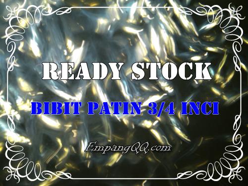 Ready Stock Bibit Patin